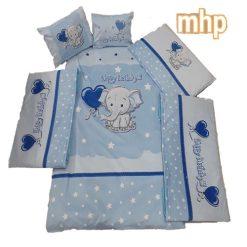 سرویس خواب کودک برند mhp - طرح فیل - 11 تکه